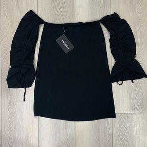 Pretty Little Thing black dress